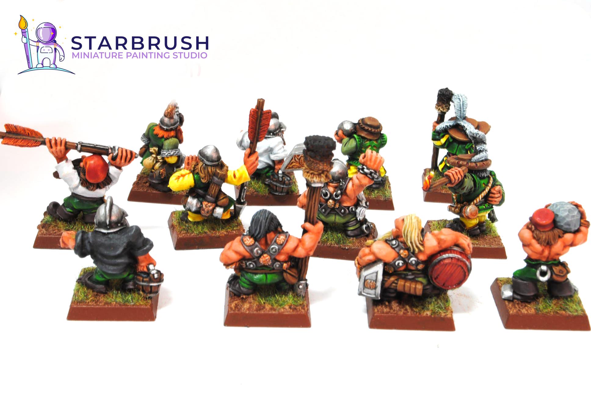 Enanos de Warhammer Fantasy
