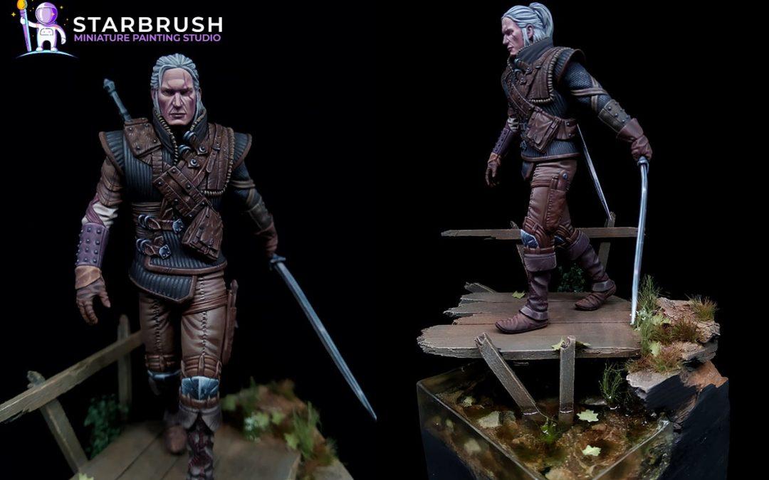 Geralt de Rivia. The Witcher. Nivel 5