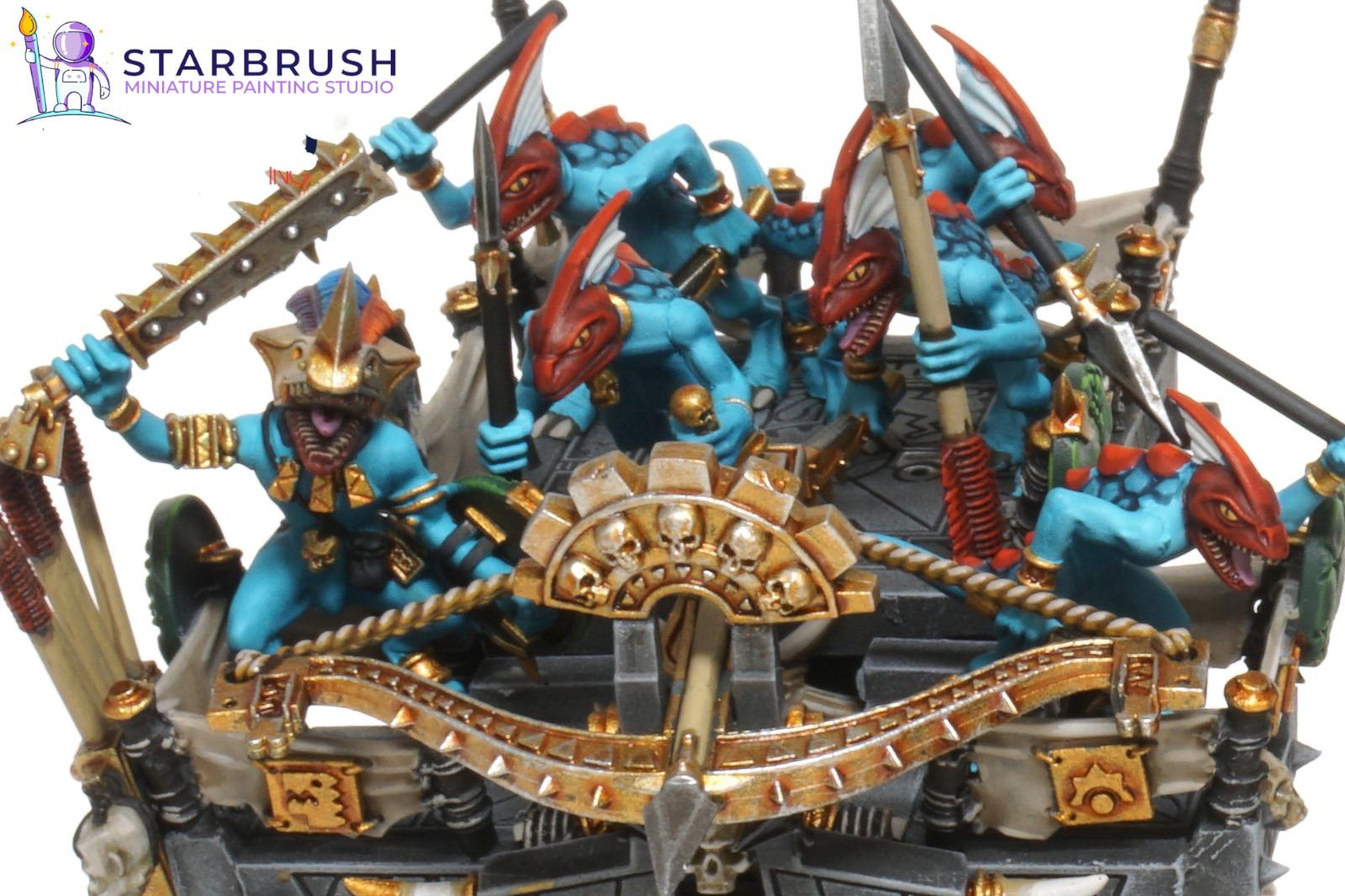 Estegadón y Héroes Seraphon