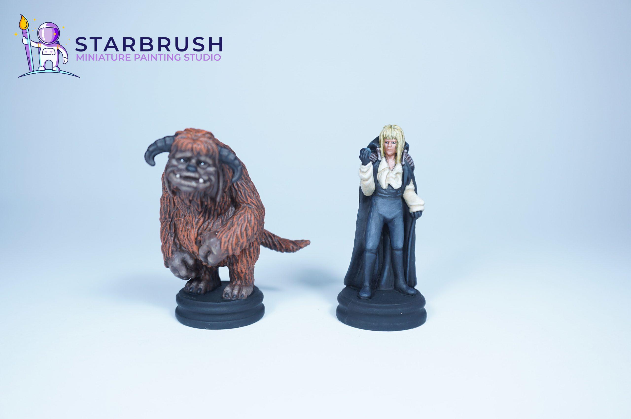Miniaturas Juego Jim Hensons Labyrinth. Nivel 4