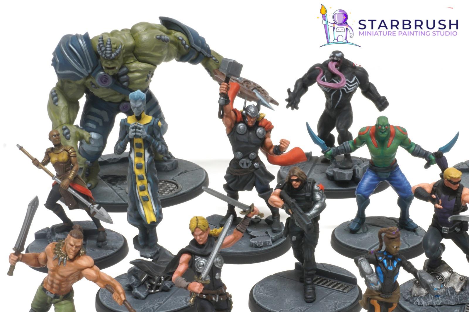 Marvel Crisis Protocol. Personajes. Nivel 2