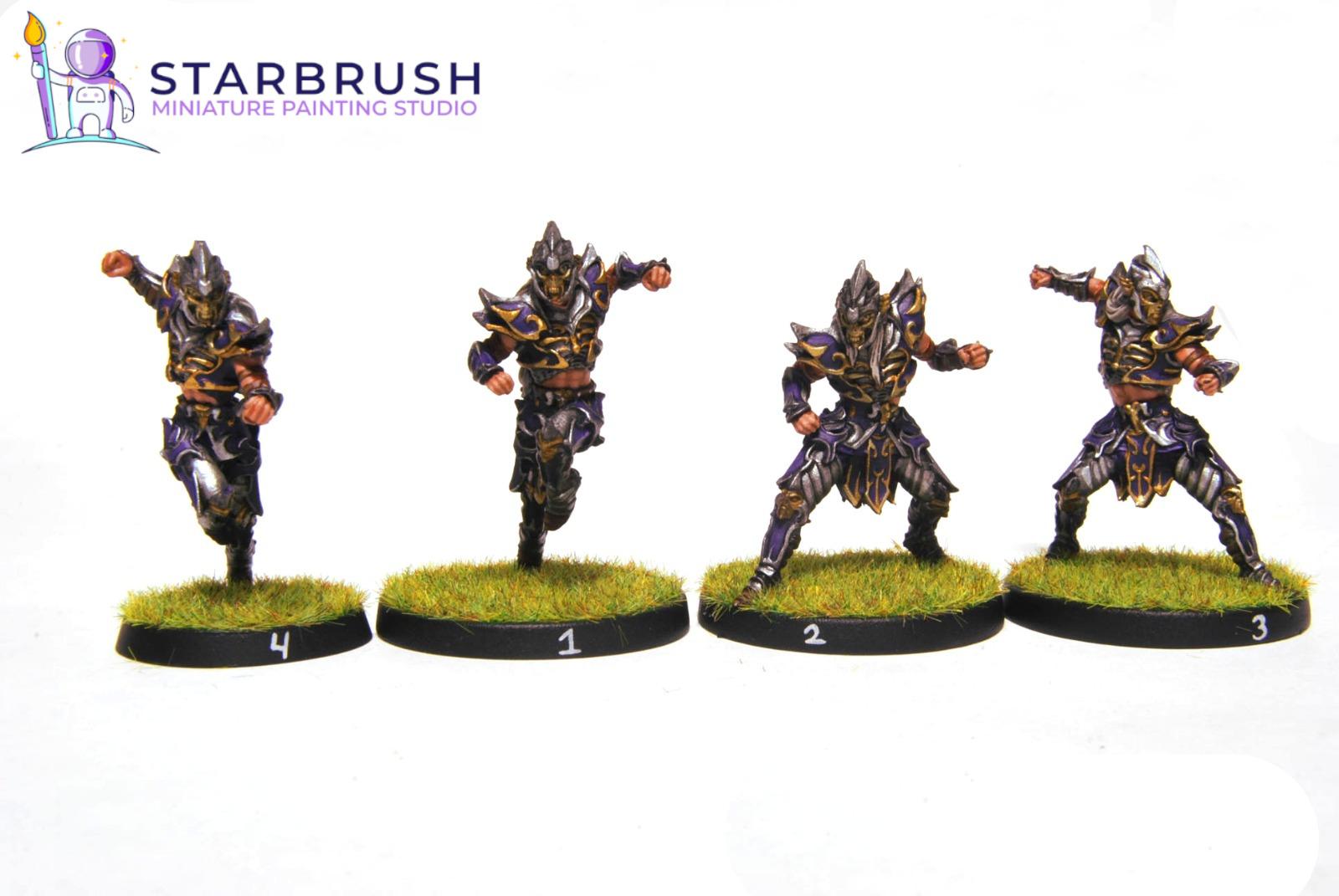 Equipo Blood Bowl. Obsidian Dust. Nivel 3