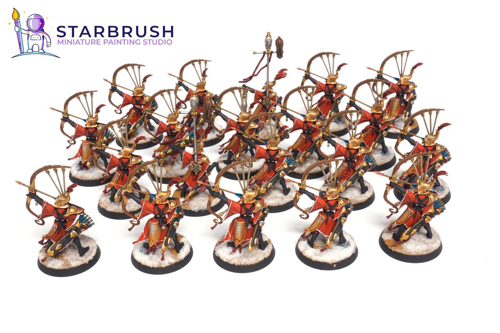 Vanari Auralan Sentinels. Lumineth. Nivel 2