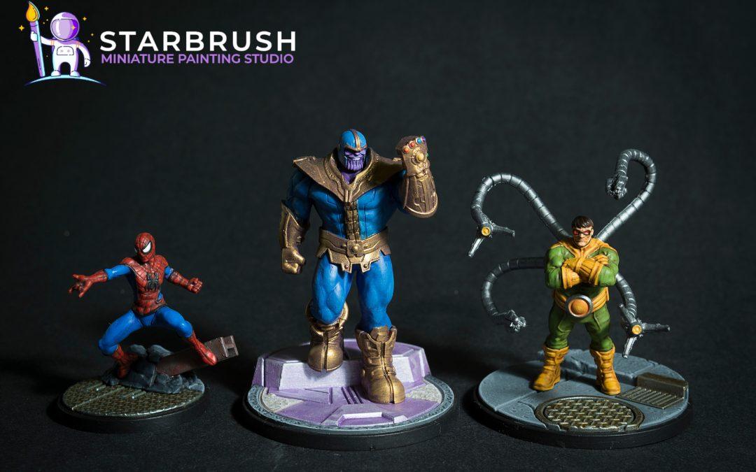 Marvel Crisis Protocol caja básica y otros Super Héroes. Nivel 1.